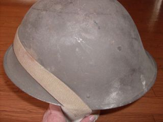 WWII British Army MK IV Helmet Dated 1945