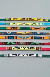 Native Vibe Jewelry Guate Cloth 3 Pack Friendship Bracelet Set