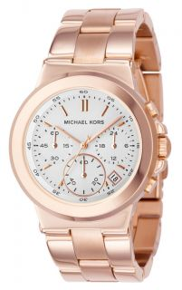 Michael Kors Womens Rose Gold Chronograph Watch MK5223 Brand New in