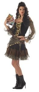 Esmeralda Pirate Renaissance Madame Destiny Dress Halloween Costume