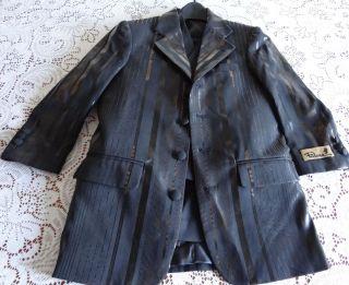 New Childs Kids Falcone Baron Split Jr 3pc Suit Tuxedo Jacket Vest