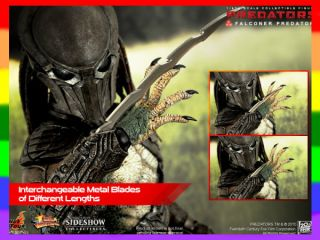 Hot Toys 1/6 Predator Falconer_ Box Set_ LED Predators HT057Z