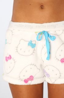 Hello Kitty Intimates The Hello Kitty Burnout Short in White