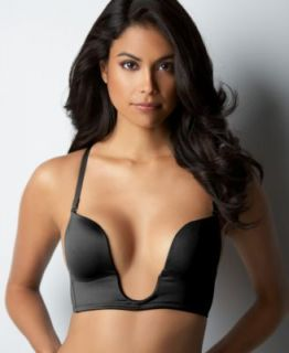 Fashion Forms U Plunge Bra Nude or Black B D Cups Convertible Straps