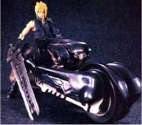 Final Fantasy VII Cloud Fenrir Motorcycle Statue Figure 58270
