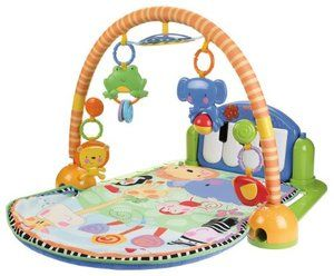 Fisher Price Discover N Grow Kick Play Activity Mat Musical Piano Gym