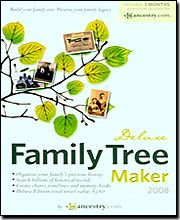 Family Tree Maker Deluxe 2008 Win XP Vista SEALED New