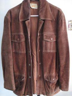 Vintage Fingerhut Fashions mens suede jacket very good condition