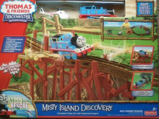 Fisher Price Thomas the Train Friends Trackmaster Misty Island