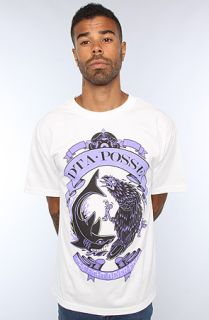 DTA   Rogue Status The Shark VS Crow Tee in White
