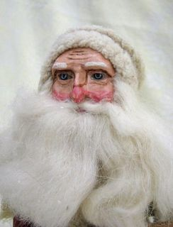 Victorian Father Christmas Santa Figure Decoration SM