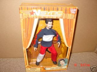 MIB NSYNC Doll Joey Fatone Marionette Band Sing