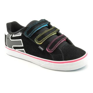 Etnies Kids Fader Vulc Strap Youth Kids Girls Size 1 5 Black Skate