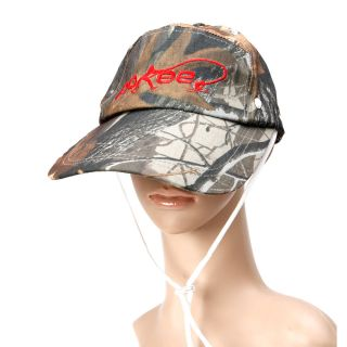 Supre Hot Fishing Hat Cap Detachable Camouflage Leaf Pattern Hooded