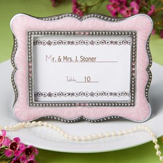 48 Wedding Favors Placecard Holders Pink Victorian Frames Baby Bridal