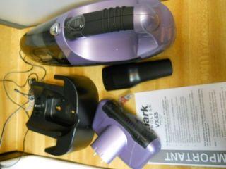 shark euro pro vx33 cordless handheld vacuum 16 8 volt lavender sv769