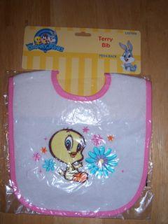 New Baby Looney Tunes Bib Baby Bugs Bunny Baby Tweety Baby Taz