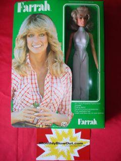 1977 Mego Figure 12 Farrah Fawcett Majors Doll RARE New NIP
