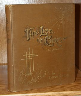 Nice Large The Life of Christ 1890 Illustrated Gustave Dore Bible