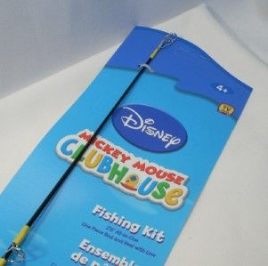 Disney Mickey Mouse Fishing Rod Reel Combo Shakespeare NEW for Kids