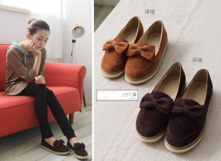Loafer Moccasin Flat Shoes Girl Japanese Korean Fashion Style