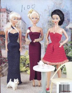 Quick Easy Fashion Doll Dresses Barbie Crochet Pattern