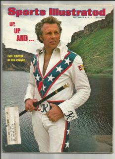 Sports Illustrated 1974 Evel Knievel
