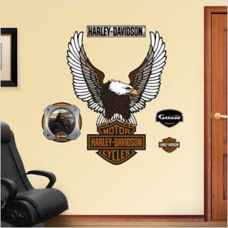 Fathead Harley Davidson Logo Wall Graphic 16 00001