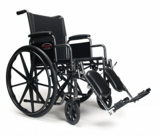 Everest Jennings Advantage Folding Wheelchair Elevating Legrests 18x16