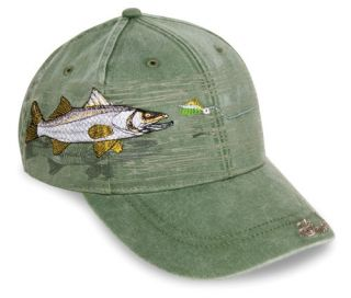 Snook Cap Fishing Hat Detailed Embroidery