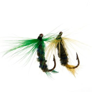 Pro 12pcs Fly Hooks Fishing Flies Hook 12 Lures Dry Fish DonT Need