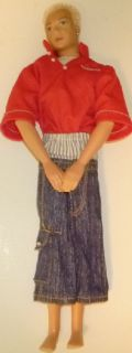 Barbie Flavas Boy Liam Hip Hop Blonde Fuzzy Hair Dressed Swivel Waist