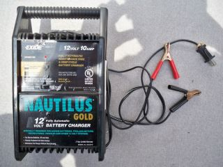 Exide Nautilus Gold Battery Charger Fully Automatic 12 Volt 10Amp