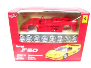 Maisto Ferrari F50 Model Kit Red 1 24 Diecast Car