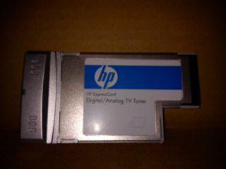 HP ExpressCard Digital Analog TV Tuner PC Card 438587 001