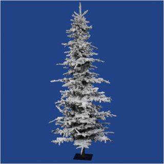 Vickerman Flocked Georian Fir 72 Artificial Christmas Tree A101260