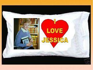 LOVE JESSICA FLETCHER PILLOWCASE Murder She Wrote