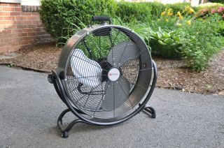 UTILITECH 20 in 3 Speed High Velocity Floor Fan Model Model FE50 T1