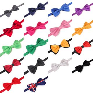 Bowtie Multi Style Color Neckwear Adjustable Mens Bow Tie