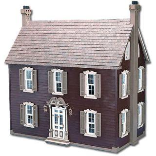 Greenleaf Wooden Dollhouses Willow Dollhouse Doll House Kit for Black