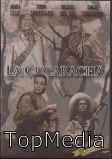 La Cucaracha DVD New Maria Felix Emilio Fernandez Dolores Del Rio