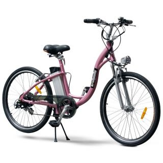 Wheels EW 800 LI Electric Beach Cruiser Bike Step Through Bicycle