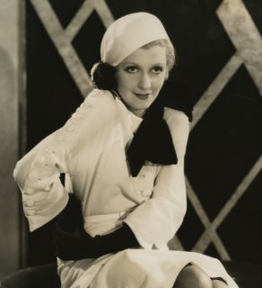 1932 Pre Code Mary Doran Cloche Hatted Beauty Pin Up Photograph Elmer