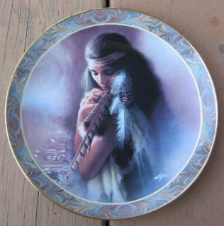 Stirrings Of The Heart collector plate by Lee Bogle Bradford Exchange