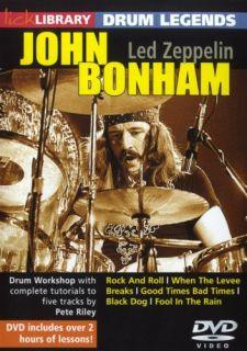 Lick Library Drum Legends John Bonham LED Zeppelin DVD
