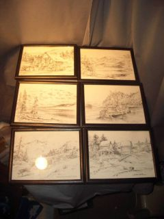James F Murray Alaska Series Photo Lithographs