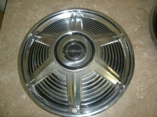 64 66 Mustang Wheel Cover Cap
