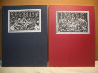 Filip Leu Dragons Tattoo Flash Sketch Art A4 Book Vol I II 11