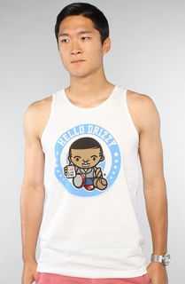 Rich Scampi The Hello Drizzy Tank in White