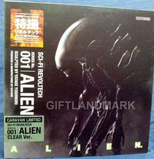 Revoltech SCI FI 001 1 Alien Movie Action Figure Clear Version LIMITED
